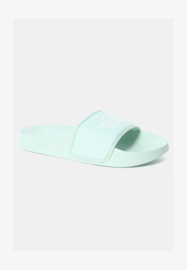 BASE CAMP - Sandali da bagno - misty jade/tnf white