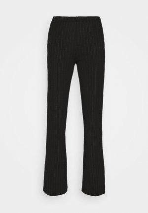 JDYSHINE FLARE PANT  - Pantalon classique - black
