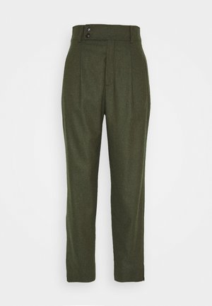 LIV CROPPED - Trousers - khaki