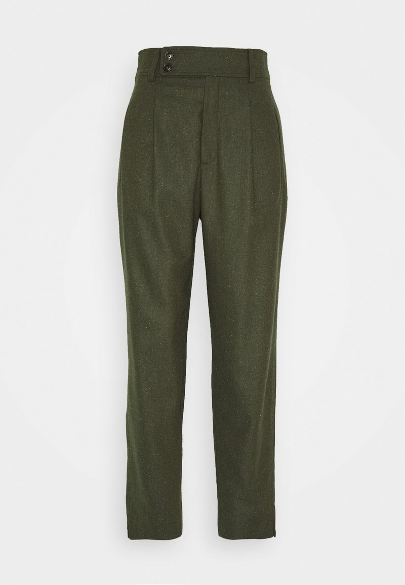 CLOSED - LIV CROPPED - Trousers - khaki