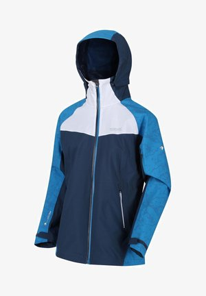 Outdoor jacket - dkdenim/whit