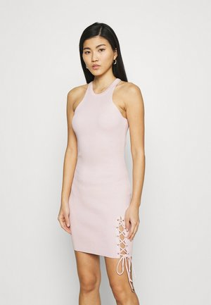 ALEXA TIE  - Shift dress - pink sky