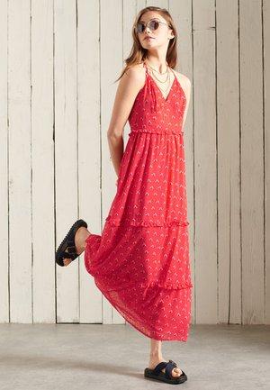 MARGAUX - Długa sukienka - hibiscus ditsy