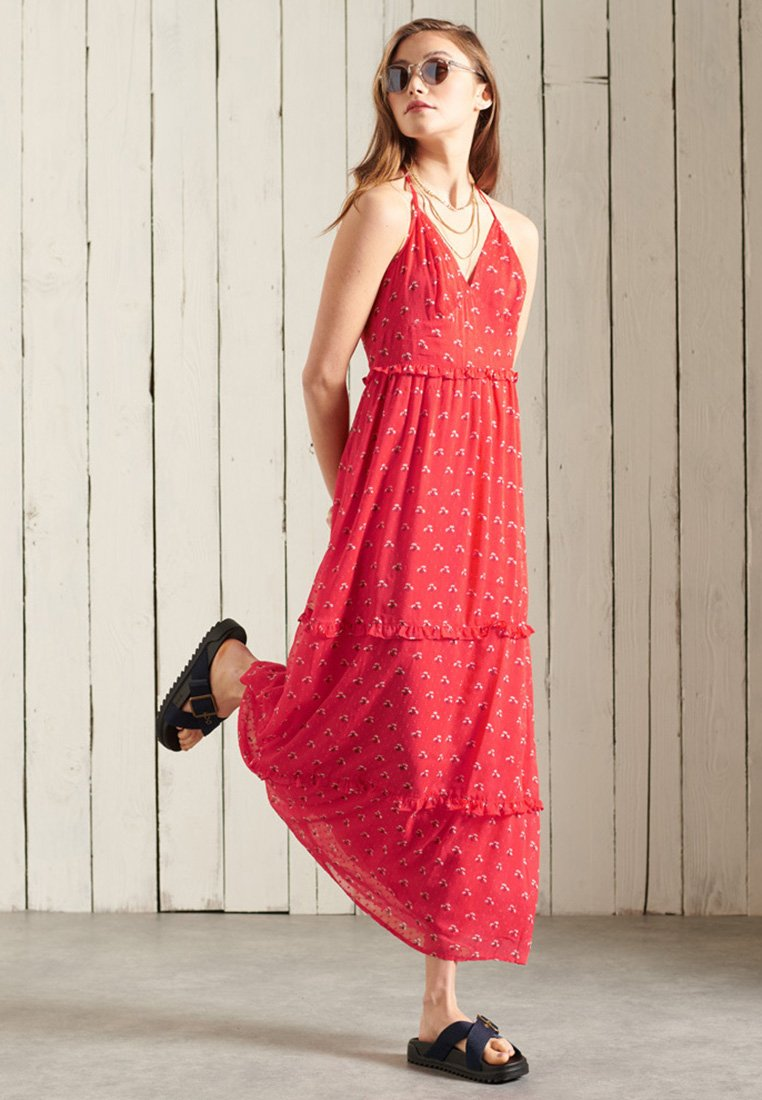 Superdry - MARGAUX - Maxi dress - hibiscus ditsy