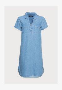 Zign - Denim dress - light blue - 4
