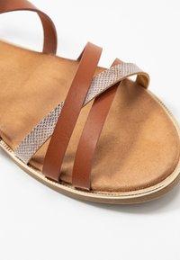 Mustang - Sandals - cognac - 2