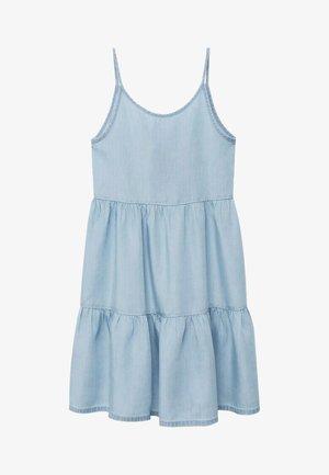 HAWAI - Denim dress - bleu clair