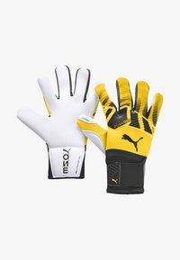 Puma - Goalkeeping gloves - ultra yellow-black-white - 0