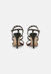 Cosmoparis - HILENIA - High heeled sandals - noir - 3