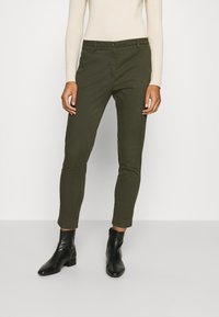 Sisley - Chino - dark green - 0