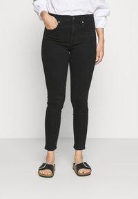 GAP Petite - SAMANTHA - Jeans Skinny Fit - true black - 0