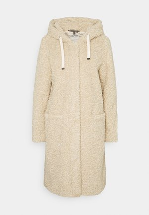 TEDDY ZIP  - Classic coat - cream beige