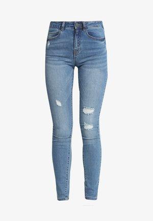 NM LUCY COFFEE - Jeans Skinny Fit - light blue denim