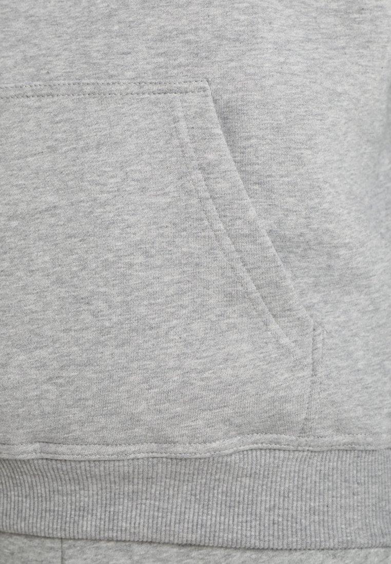 Urban Classics BLANK HOODY - Kapuzenpullover - grey/grau 6eHmaR