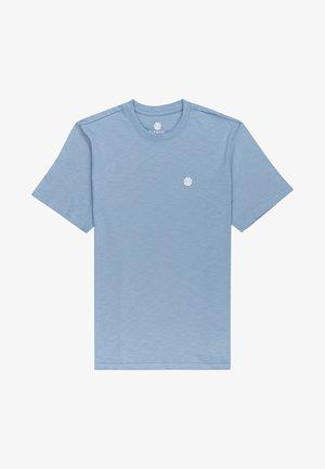 CRAIL - Basic T-shirt - faded denim