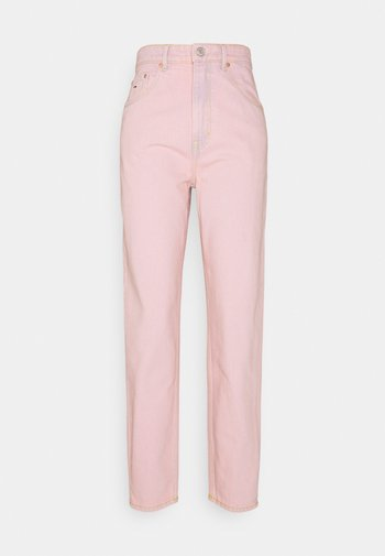 MOM ULTRA - Jeans relaxed fit - pink daisy