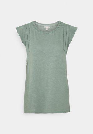 TEE LADDER - Print T-shirt - turquoise