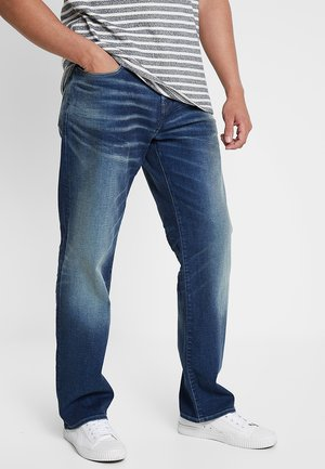3301 LOOSE FIT - Jeans baggy - joane stretch denim - worker blue faded