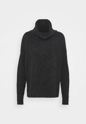 VMDOFFY COWLNECK - Jumper - black/melange