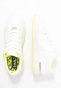 DKNY - BINDA LACE UP - Trainers - white - 3