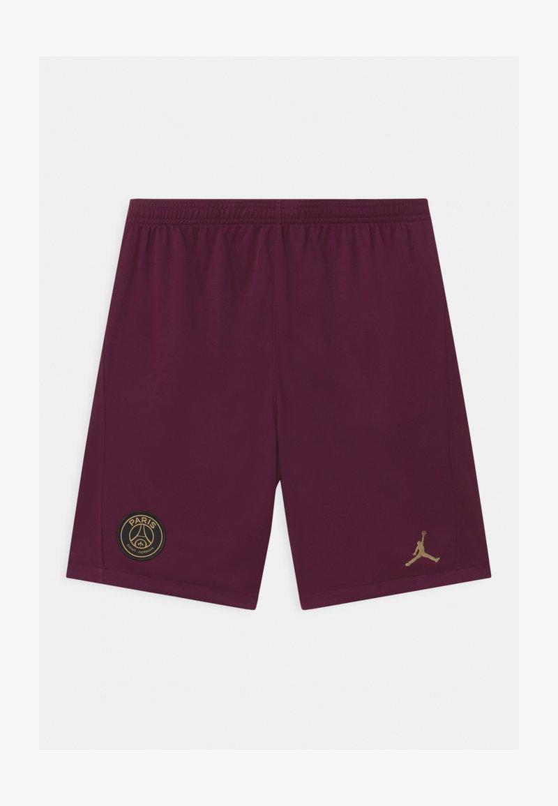 Nike Performance - PARIS ST GERMAIN UNISEX - Sports shorts - bordeaux/truly gold