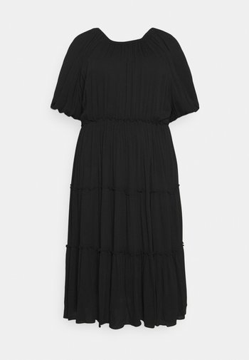 SLFKINORA VIENNA  2/4 DRESS - Day dress - black