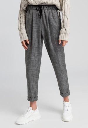 Trousers - black varied