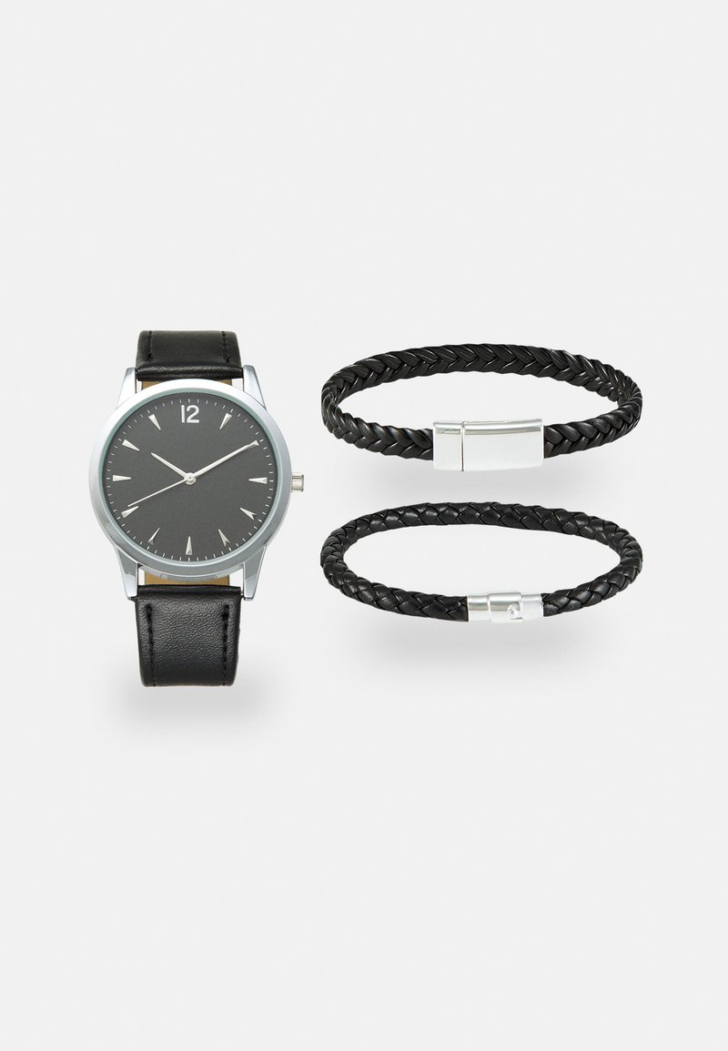 Pier One - SET - Watch - black