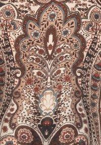 Sara Lindholm - WEB - Maxi dress - braun/smaragd - 4