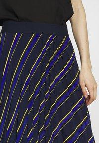 NAF NAF - LASTREET - A-snit nederdel/ A-formede nederdele - dark blue - 5