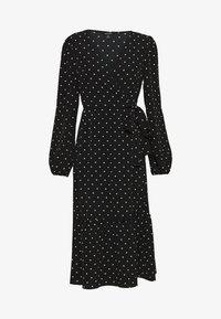 Monki - MARTINA DRESS - Kjole - black dark - 0