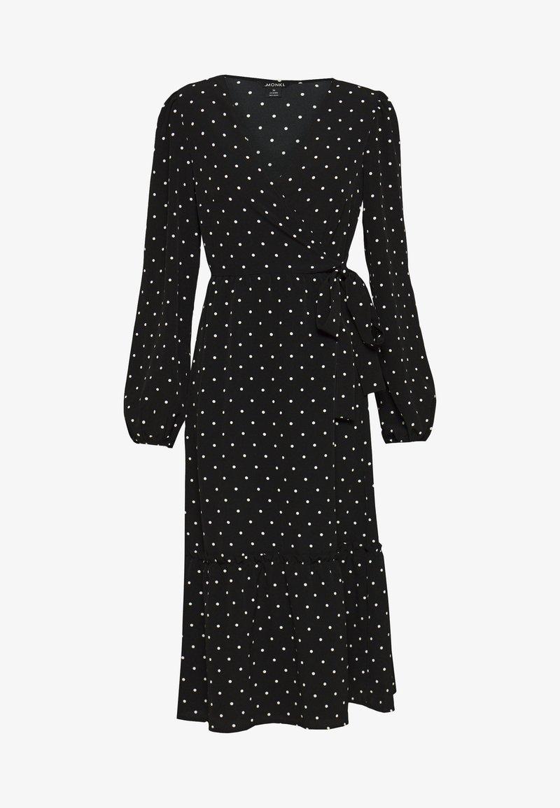 Monki - MARTINA DRESS - Kjole - black dark