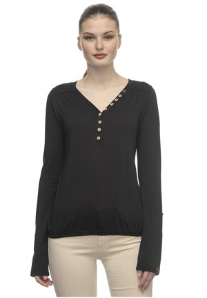 PINCH  - Long sleeved top - black