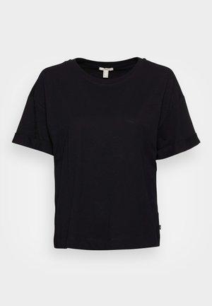 ICONIC - Basic T-shirt - black