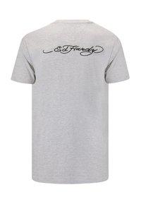 Ed Hardy - TIGER-LIGHTNING T-SHIRT - Print T-shirt - grey - 1