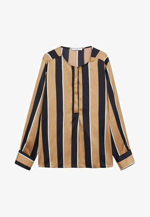 STRIPY8 - Blouse - karamell