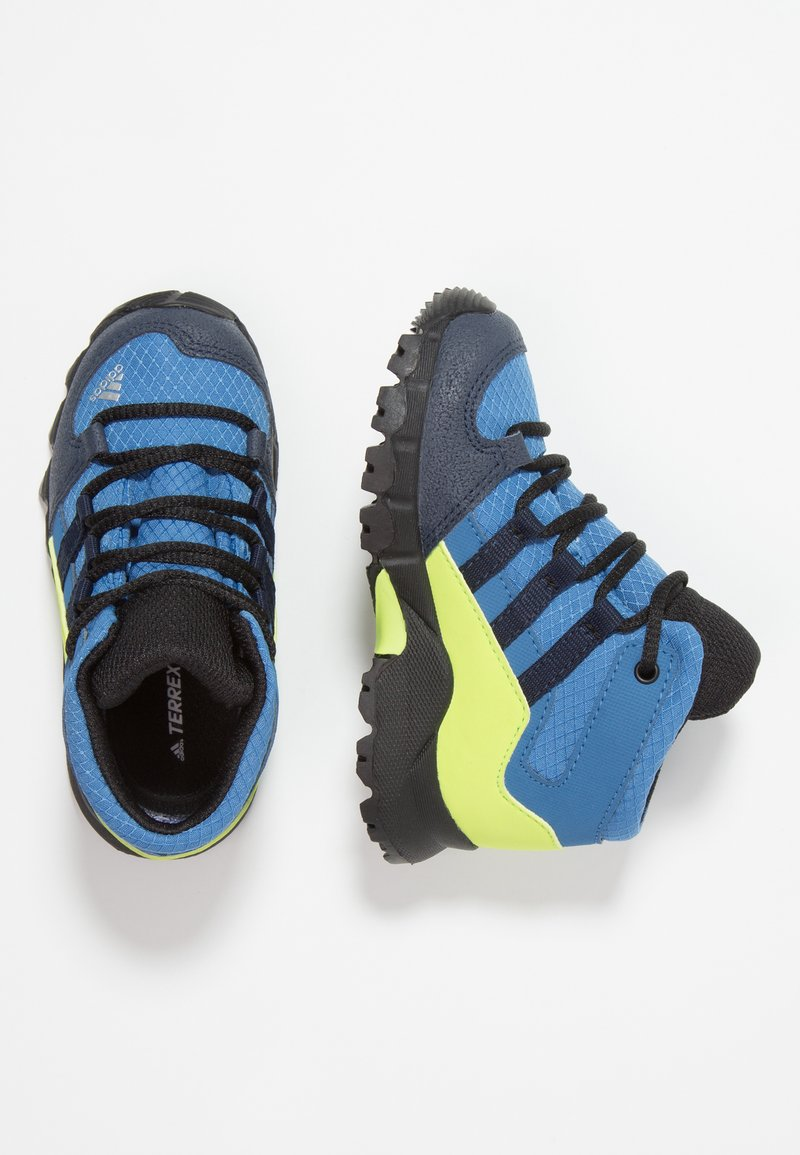 adidas Performance - TERREX RELAXED SPORTY GORETEX MID SHOES - Trekingové boty - trace royal/collegiate navy/solar slime