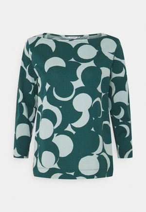 VASTINPISTE MURIKAT - Long sleeved top - muted turquoise/petrol