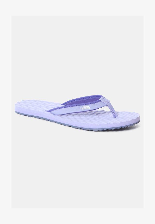 W BASE CAMP MINI II - Sandalias de dedo - sweet lavender/tnf white