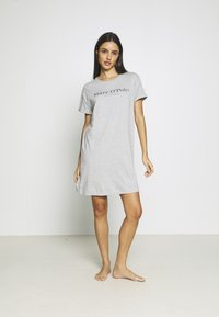 Marc O'Polo - SLEEPSHIRT CREW NECK - Pyjama top - grau-meliert - 1