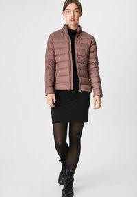 C&A - Down jacket - dark pink - 1