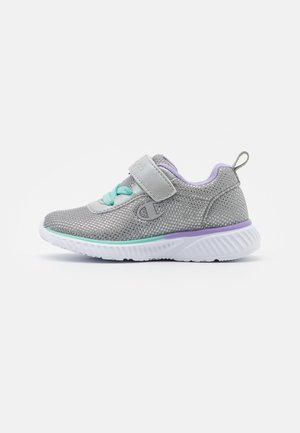 LOW CUT SHOE SOFTY SPARKLING - Sports shoes - light grey