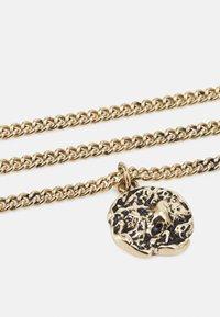 Icon Brand - MOLTEN ROUND PENDANT NECKLACE - Ketting - gold-coloured - 2