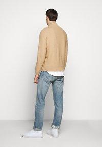Polo Ralph Lauren - LONG SLEEVE  - Jersey de punto - camel melange - 2
