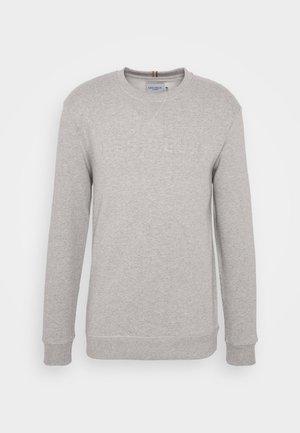 LES DEUX APPLIQUÉ  - Sweater - light grey melange