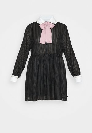 ETIQUETTE SMOCK DRESS - Shirt dress - black