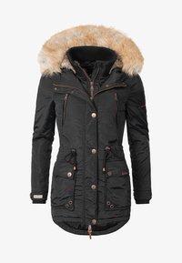 Marikoo - GRINSEKATZE - Winter coat - black - 0
