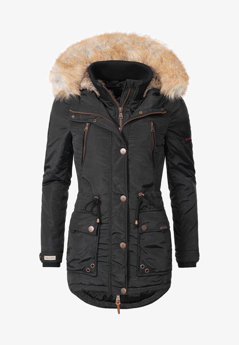 Marikoo - GRINSEKATZE - Winter coat - black