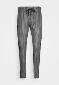 VERT - Teplákové kalhoty - black/white