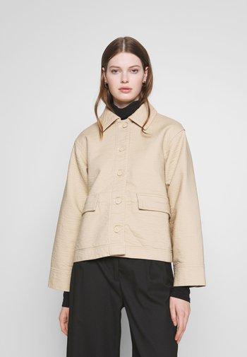 EVE - Lett jakke - medium beige